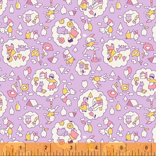 51978-5 Storybook by Whistler Studios for Windham Fabrics