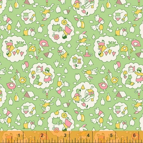 51978-6 Storybook by Whistler Studios for Windham Fabrics