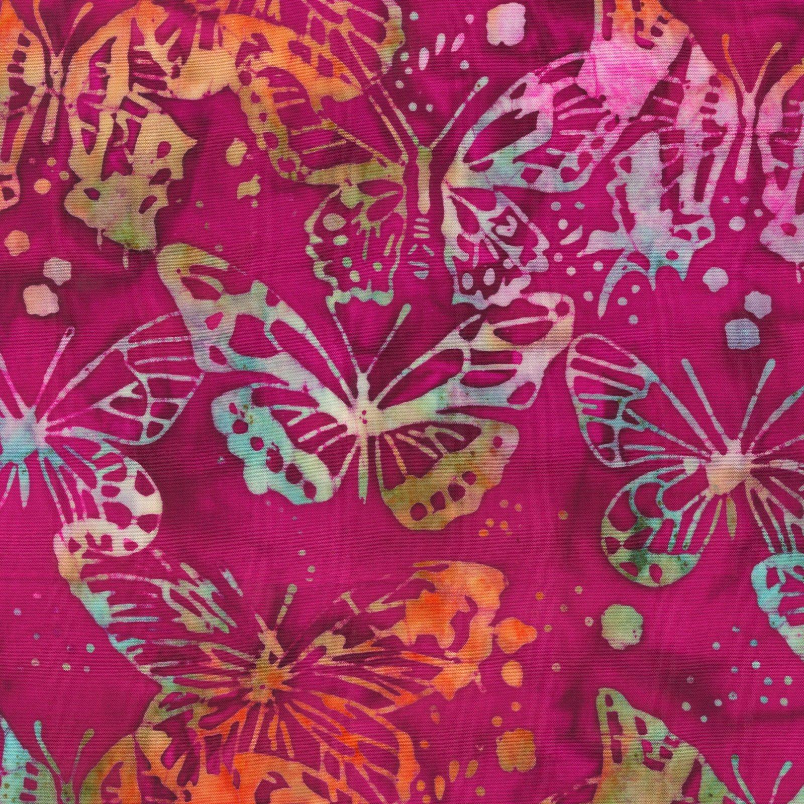519Q-X Rayon Batiks by Anthology Fabrics