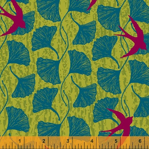 52011-3 Norma Rose by Natalie Barnes of Beyond the Reef for Windham Fabrics