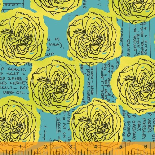 52014-8 Norma Rose by Natalie Barnes of Beyond the Reef for Windham Fabrics