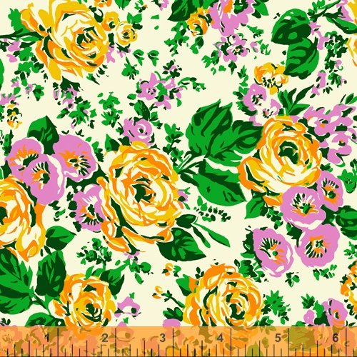 52030-1 Posy by Annabel Wrigley for Windham Fabrics