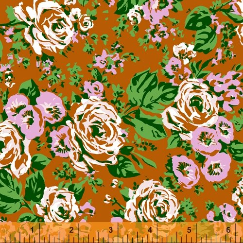 52030-3 Posy by Annabel Wrigley for Windham Fabrics