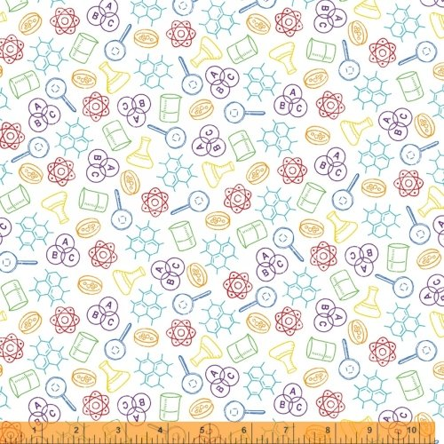 52040-X It's Elementary by Rosemarie Lavin for Windham Fabrics