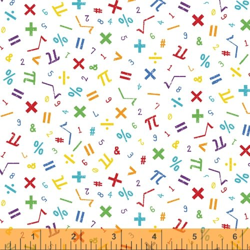 52041-4 It's Elementary by Rosemarie Lavin for Windham Fabrics