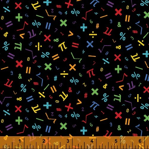 52041-5 It's Elementary by Rosemarie Lavin for Windham Fabrics
