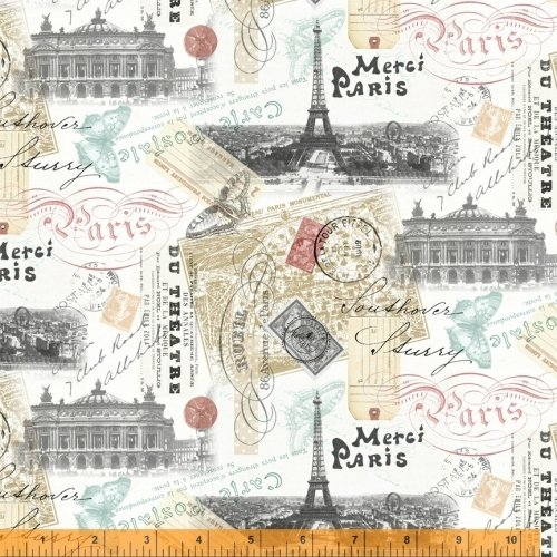 52137-X Merci Paris by Windham Fabrics