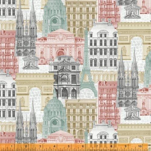 52139-X Merci Paris by Windham Fabrics
