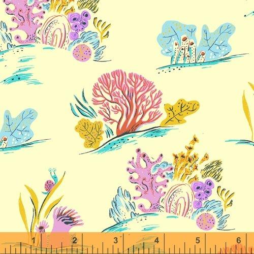 52147-10 Malibu by Heather Ross for Windham Fabrics
