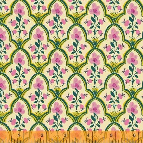 52151L-7 Malibu Cotton Lawn by Heather Ross for Windham Fabrics