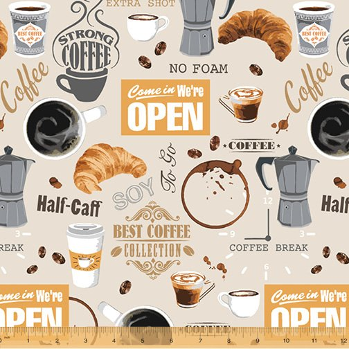 52259-1 Coffee Shop by Windham Fabrics