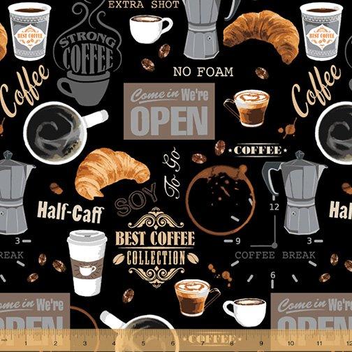 52259-2 Coffee Shop by Windham Fabrics