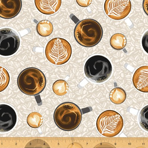 52260-7 Coffee Shop by Windham Fabrics
