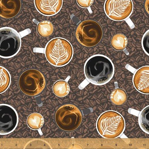 52260-8 Coffee Shop by Windham Fabrics