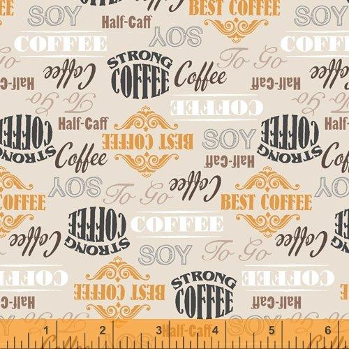 52261-1 Coffee Shop by Windham Fabrics