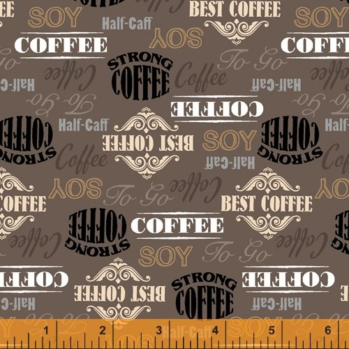 52261-3 Coffee Shop by Windham Fabrics