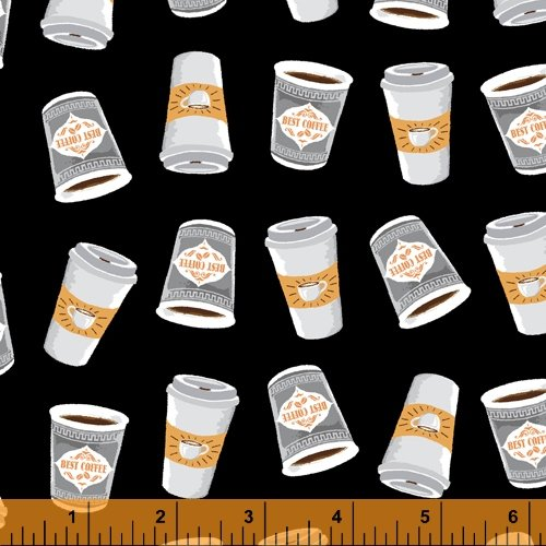 52263-2 Coffee Shop by Windham Fabrics
