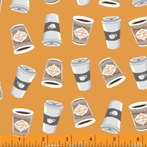 52263-5 Coffee Shop by Windham Fabrics