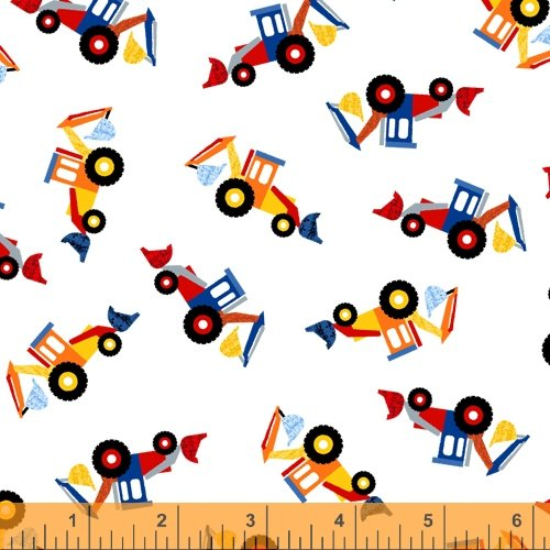 52266-1 Work Zone by Windham Fabrics