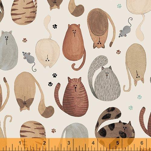 52270-1 Fat Cat by Windham Fabrics