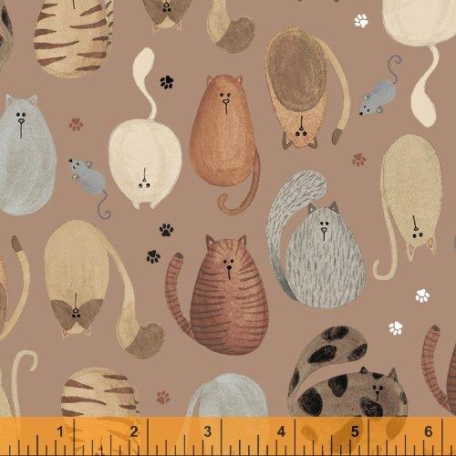 52270-2 Fat Cat by Windham Fabrics