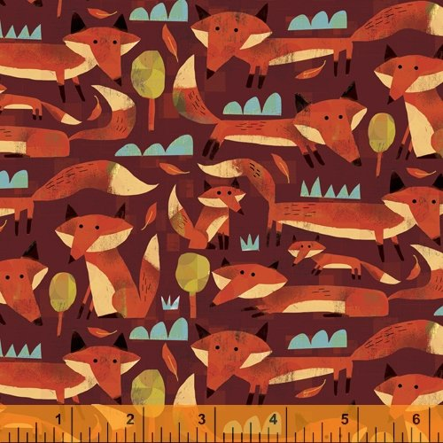 52284D-6 Woodland by Gareth Lucas for Windham Fabrics