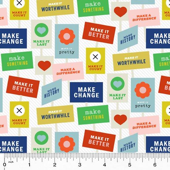 52304-1 Breaking News by Janine Vangool for Windham Fabrics