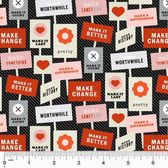 52304-2 Breaking News by Janine Vangool for Windham Fabrics