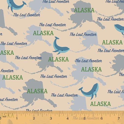 52327D-AK Alaska State Pride by Windham Fabrics