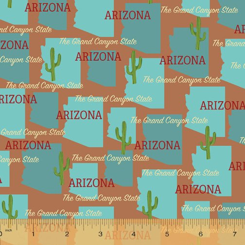 52327D-AZ Arizona State Pride by Windham Fabrics