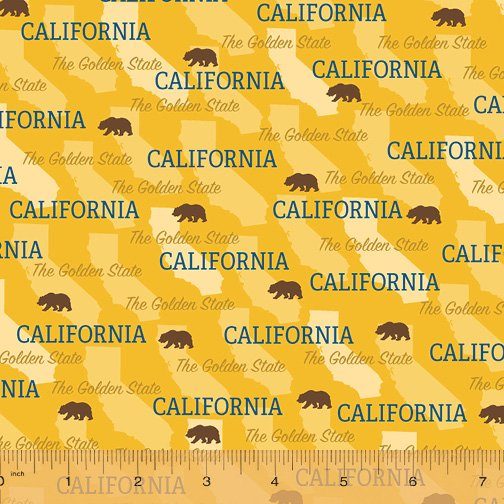 52327D-CA California State Pride by Windham Fabrics