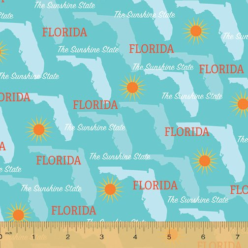 52327D-FL Florida State Pride by Windham Fabrics