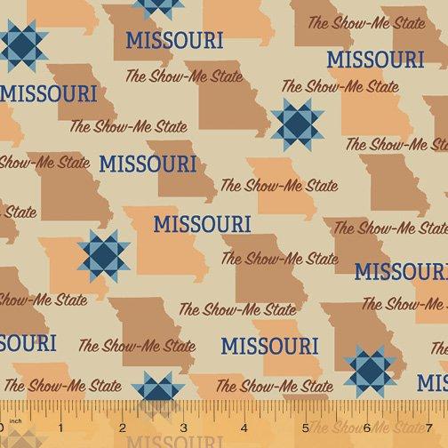 52327D-MO Missouri State Pride by Windham Fabrics