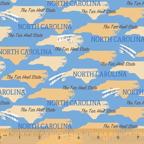 52327D-NC North Carolina State Pride by Windham Fabrics
