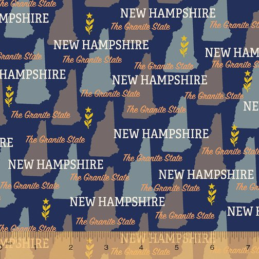 52327D-NH New Hampshire State Pride by Windham Fabrics
