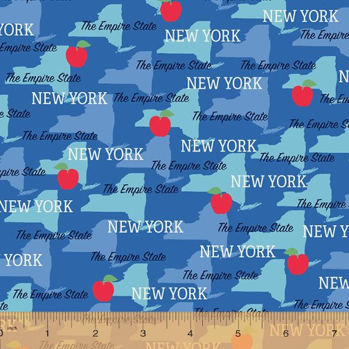 52327D-NY New York State Pride by Windham Fabrics