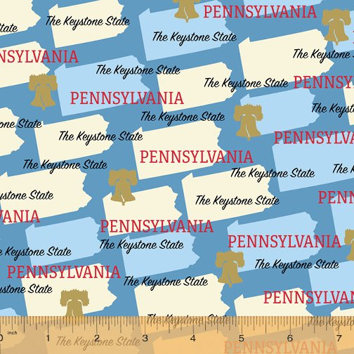52327D-PA Pennsylvania State Pride by Windham Fabrics