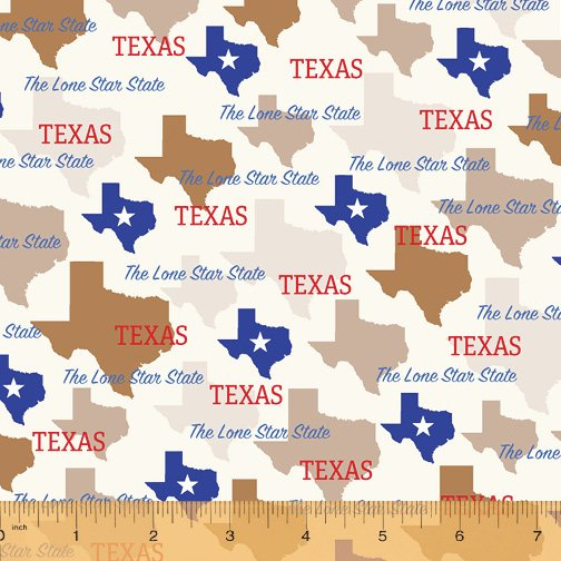 52327D-TX Texas State Pride by Windham Fabrics