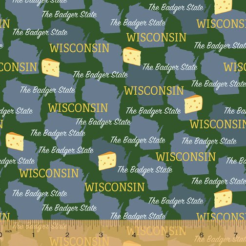 52327D-WI Wisconsin Pride by Windham Fabrics