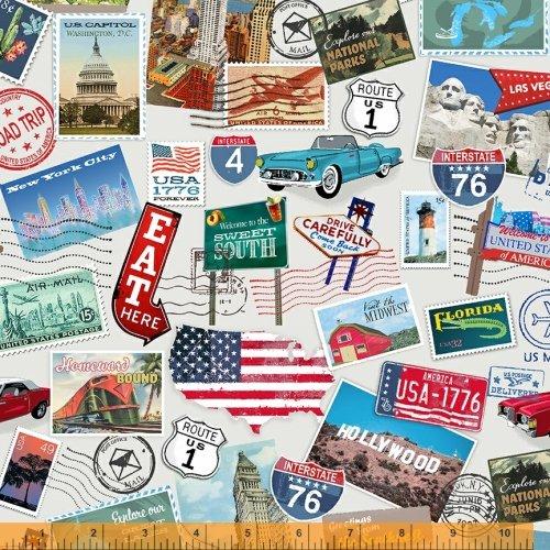 52334-X American Road Trip by Windham Fabrics