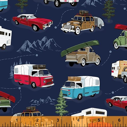 52335-1 American Road Trip by Windham Fabrics