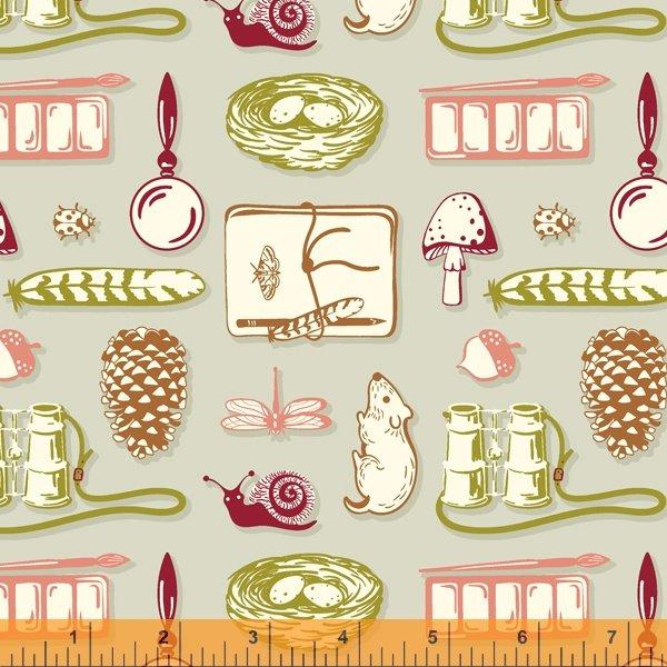 52459-3 Summer School by Judy Jarvi for Windham Fabrics