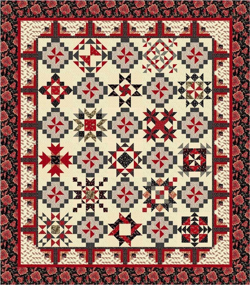 WISBOM Wisdom BOM Quilt Kit by Windham Fabrics