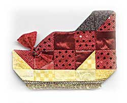 GLITZY SLIPPER ORNAMENT KIT-TORNADO ALLEY SERIES