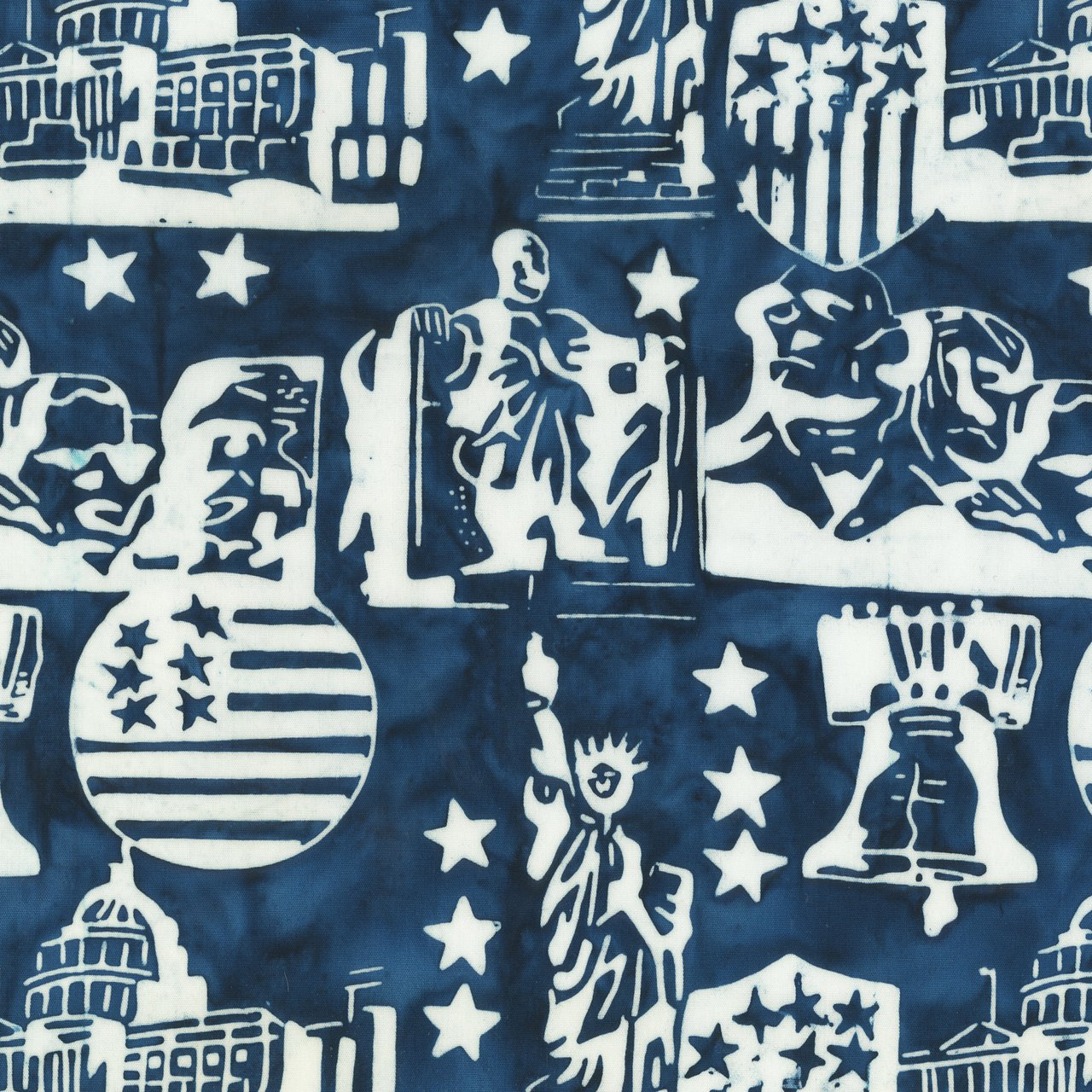9000Q-3 Freedom Batiks by Anthology Fabrics
