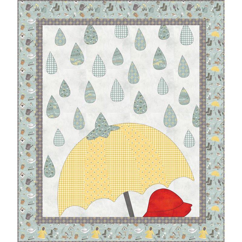 Raindrops Quilt Kit