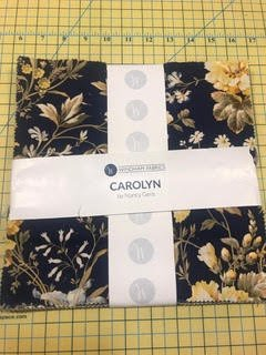 10 squares Carolyn by Windham Fabrics