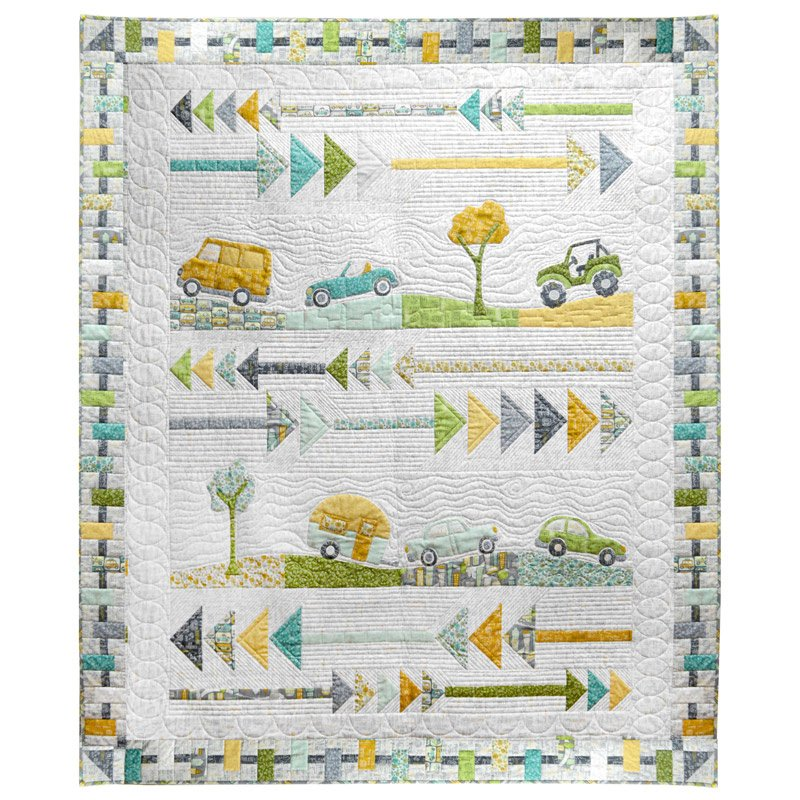 Going Places Quilt Kit