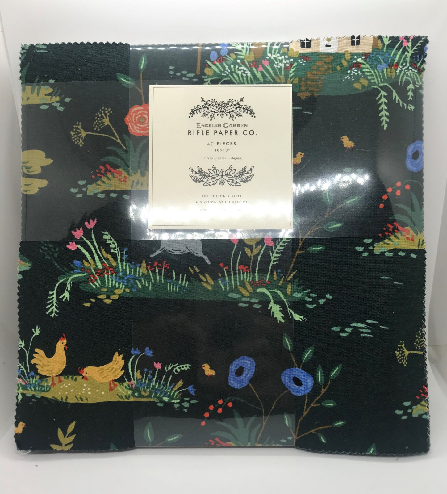 RPEG10SP Rifle Paper Co. English Garden 10 Square Pack