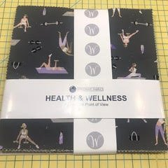 10 squares Health and Wellness by Windham Fabrics